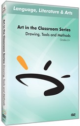 Art in The Classroom Series: Drawing, Tools, and Methods DVD