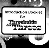 BJU Thresholds for Threes Teacher's Resource File