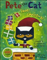 Pete the Cat Saves Christmas, Library Binding