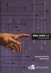 Bible Guide C Student Workbook (KJV)