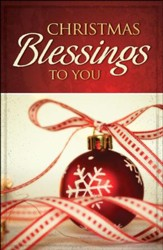 Christmas Blessings to You: Pack of 25 Tracts