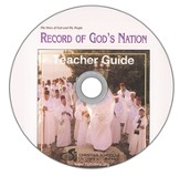 Record of God's Nation Teacher's Guide & Black Line  Master DVD-ROM