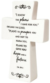 Tabletop Cross Jeremiah 29:11