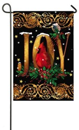 Joy Cardinal Flag, Small