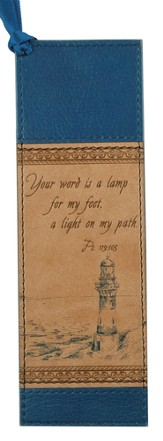 Lighthouse Bookmark, Tan