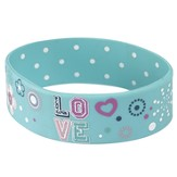 Witness Gear Wristband Love, Blue