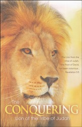 Lion of Judah (Revelation 5:5, HCSB) Bulletins, 100