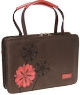 Love Flower Bible Cover, Brown and Pink, Large