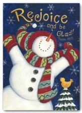 Rejoice And Be Glad (James 1:17, KJV), 20 Count Boxed Christmas Cards