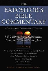 The Expositor's Bible Commetary, 1 & 2 Kings-Job, Volume 4, Dust Jacket