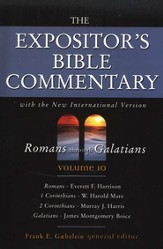 The Expositor's Bible Commentary, Romans-Galatians, Volume 10, Dust Jacket