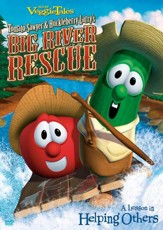 Tomato Sawyer and Huckleberry Larry's Big River Rescue,  VeggieTales DVD