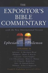 The Expositor's Bible Commentary, Ephesians - Philemon, Volume 11, Dust Jacket