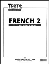 BJU French 2 Tests