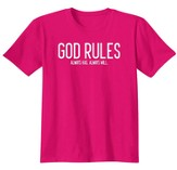 God Rules, Shirt, Heliconia, 3X-Large