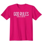 God Rules, Shirt, Heliconia, Large