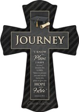 For I Know the Plans I Have for You, Journey Graduate Cross, Small