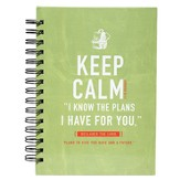 Keep Calm Wirebound Journal