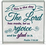 This is the Day the Lord has Made Table Top Plaque