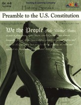 History Speaks...Preamble To The U.S. Constitution