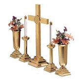 Brass Altar Set, 30