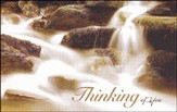 Thinking of You Waterfall (Romans 5:1) Postcards, 25