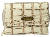 Faith, Croc Embossed Wallet, Tan