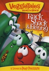 Rack, Shack, and Benny (reissue) VeggieTales DVD - Slightly Imperfect