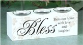 Bless Our Home Votive Holder