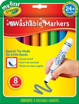 Crayola, My First Crayola, Washable Markers, 8 Pieces