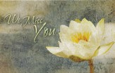 Missed You Floral ((1 Thessalonians 3:10, NIV) Postcards, 25
