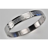 Bangle Bracelet, 8 Inch, Philippians 4:13