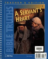 BJU Bible Truths 2: A Servant's Heart, Teacher's Edition