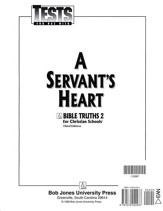 Bible Truths 2: A Servant's Heart, Tests