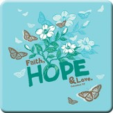 Faith Hope Love Magnet