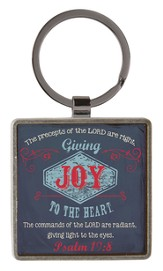 Joy, Retro Keyring