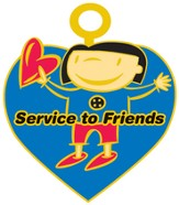 FaithWeaver Friends, Service to Friends Key, 5-pack