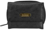 Faith, Faux Leather Wallet, Black