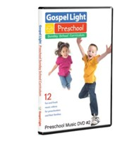 Ages 2 to 5 Preschool Music #2 DVD, Fall 2014 Year B