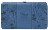 Rejoice Clutch Wallet, Blue