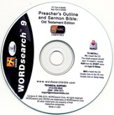 WORDsearch 9 Preacher's Outline & Sermon Bible Library, Partial Old Testament (29 books) on CD-ROM