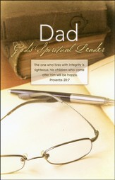 Dad God's Spiritual Leader (Proverbs 20:7), Bulletins, 100 - Slightly Imperfect