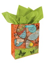 Butterfly Gift Bag, Medium
