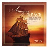 2017 Amazing Grace Wall Calendar, Large