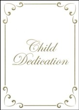 Child Dedication Certificate - Gold foil embossing, Premium stock