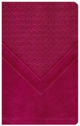 NIV Woman's Study Bible, Personal Size, Leathersoft, Rich Rose