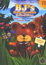 BJ's Teddy Bear Club and Bible Stories, Volume 3 (Adam and Eve)  and Volume 4 (Daniel) on DVD