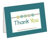 Blank Thank You Cards, Boy, Box of 10