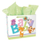 Baby Animals Gift Bag , Large