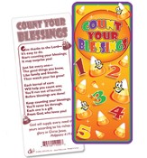 Count Your Blessings Jumbo Bookmark